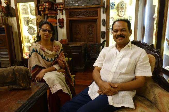 George und Anni seine Frau als gründer des Museums